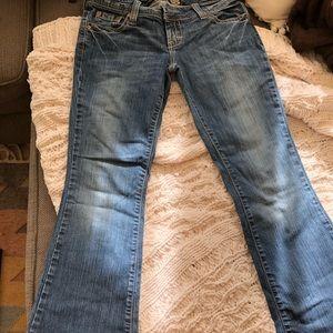 Blue denim women's American Eagle jeans 4 reg